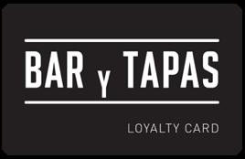 Bar Y Tapas Loyalty Card